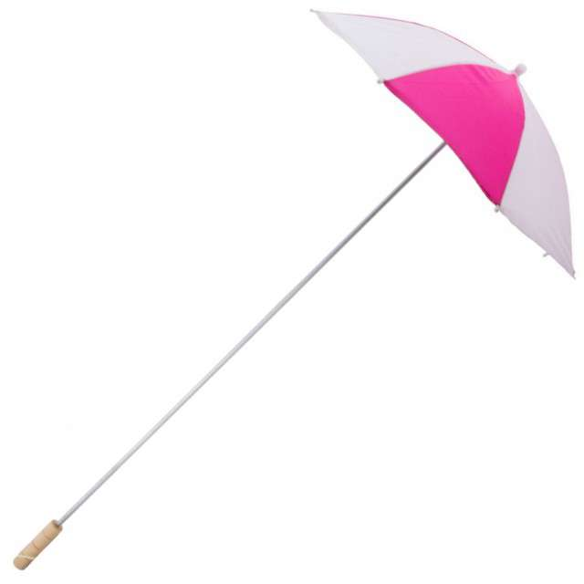 "Parasol ""Long Party"", fuksja, FunnyFashion, 105 cm"