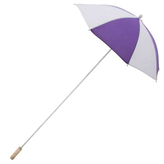 "Parasol ""Long Party"", fioletowy, FunnyFashion, 105 cm"
