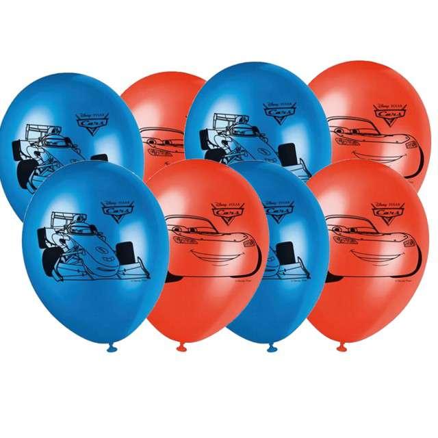 """Balony """"Cars Ice"""", mix, PROCOS, 10"""" 8 szt"""