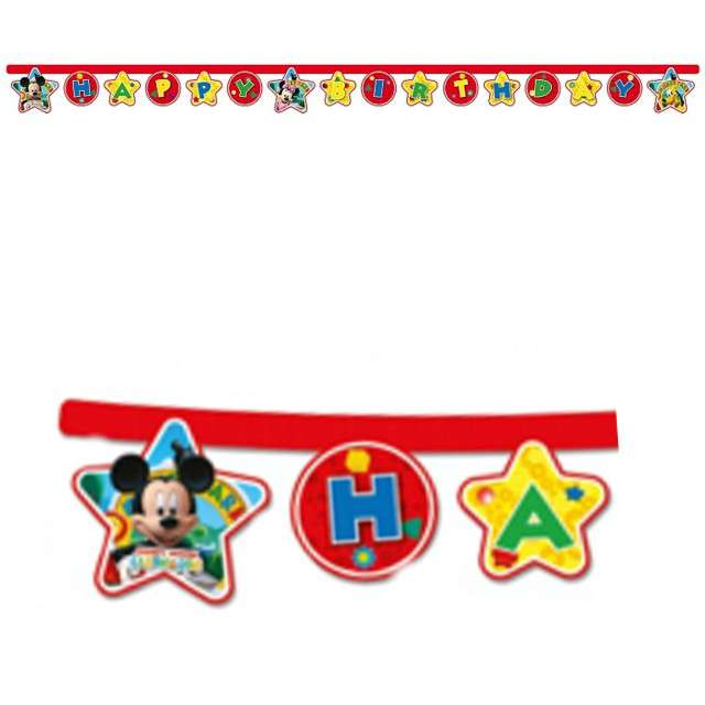 "Baner ""Playful Mickey - Happy Birthday"", PROCOS, 230 cm"