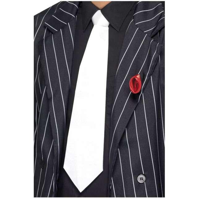 Krawat Classic Party biały SMIFFYS