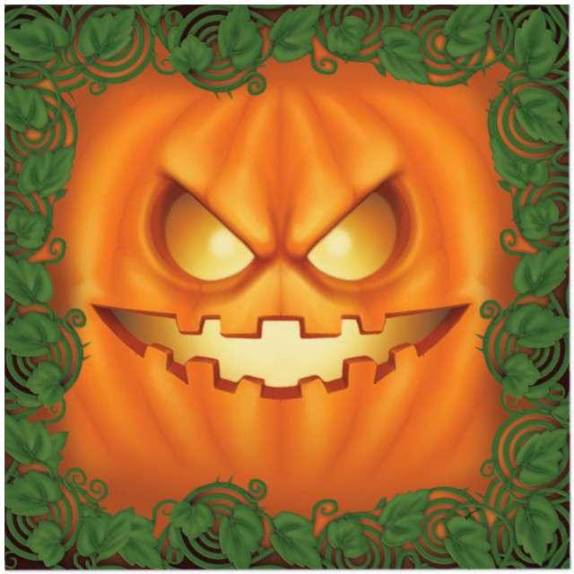 "Serwetki ""Dynia Halloween"", GUIRCA, 33 cm, 20 szt"