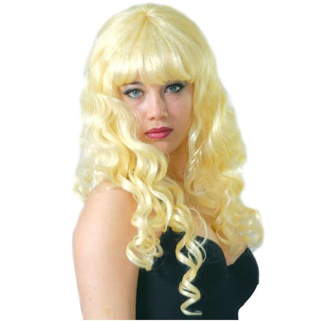 "Peruka party ""Amanda"", blond, GUIRCA"
