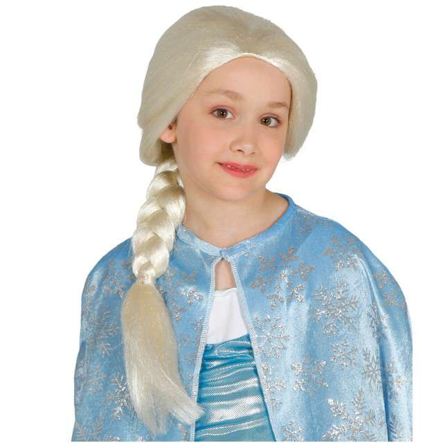 "Peruka party ""Elsa"", blond, GUIRCA"