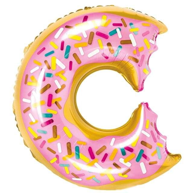 """Balon foliowy """"Pączek Donut"""", PartyDeco, 20"""" SHP"""
