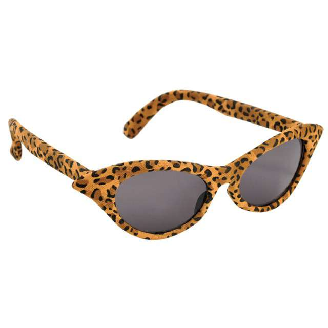 "Okulary party ""Vintage Cheetah"", AMSCAN"