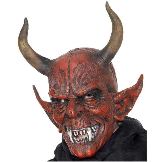 "Maska ""Diabeł Diablo"", lateksowa, SMIFFYS"