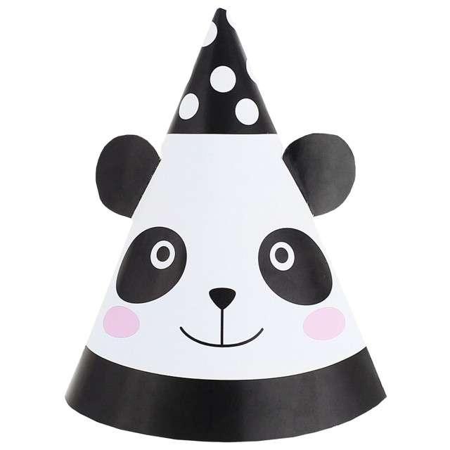 """Czapeczki papierowe """"Panda"""", GODAN, 6 szt"""