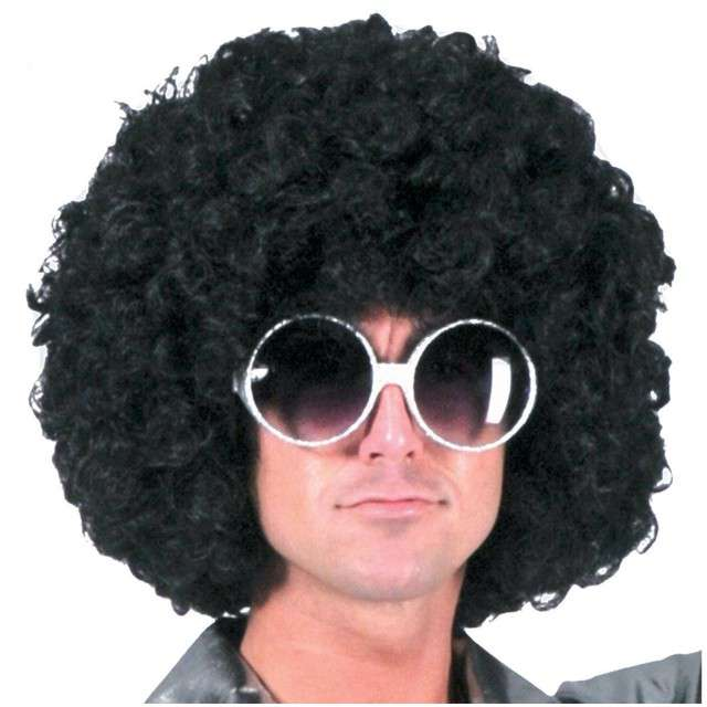 "Peruka party ""Afro Gigant"", czarny, FUNNY FASHION"