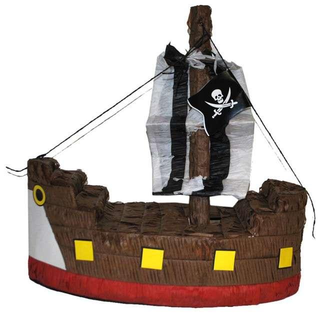"""Piniata """"Statek Piratów"""", FunnyFashion, 45x20 cm"""