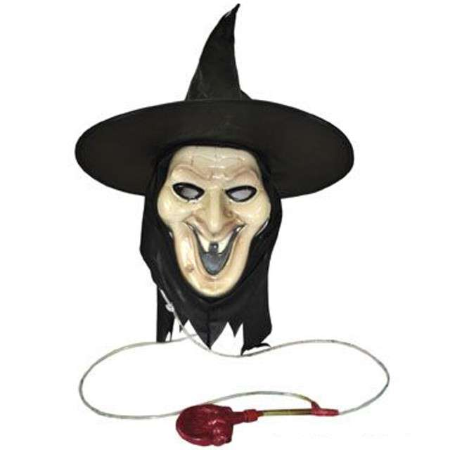 Maska Czarownica z krwią plastikowa FunnyFashion
