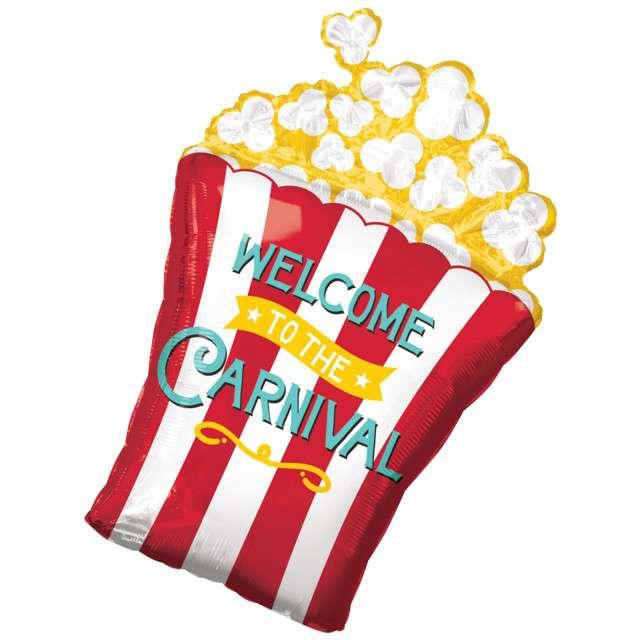 "Balon foliowy ""Popcorn"", AMSCAN, 29"" SHP"