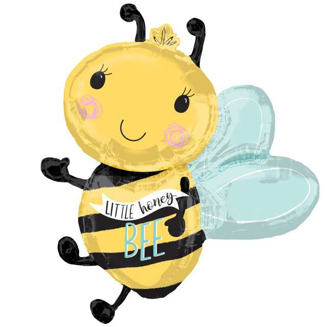 "Balon foliowy ""Bee"", AMSCAN, 30"" SHP"