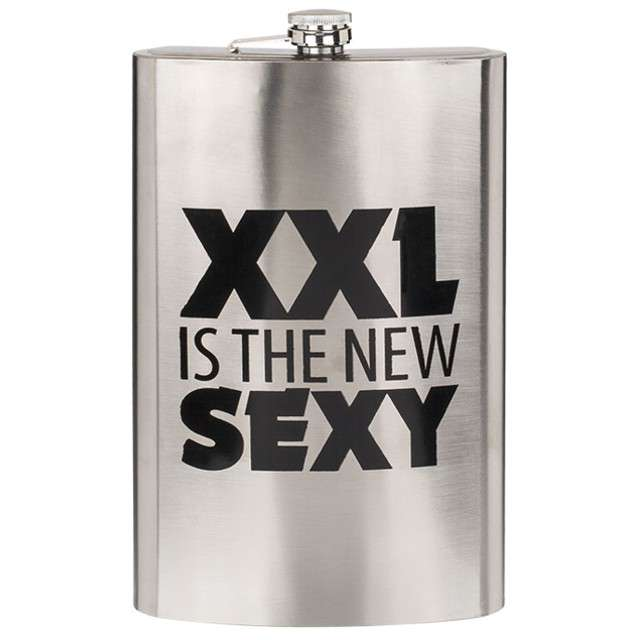 "Piersiówka ""XXL IS THE NEW SEXY"", OOTB, 1800 ml"
