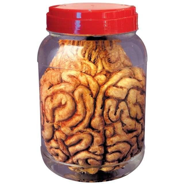 Dekoracja Mózg w słoiku WIDMANN