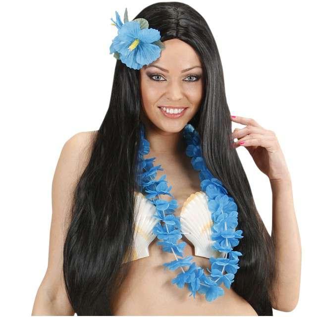 Naszyjnik Hawajski Hawaian błękitny WIDMANN 90 cm