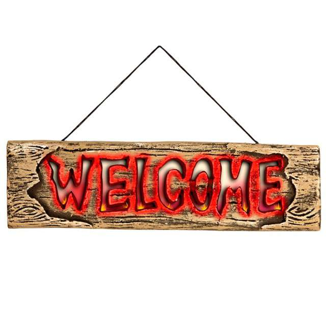 """Dekoracja """"Tabliczka Welcome"""", WIDMANN, 45 cm"""