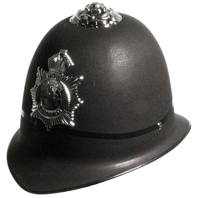"""Hełm """"Policjant Angielski"""", czarny, FOLAT"""