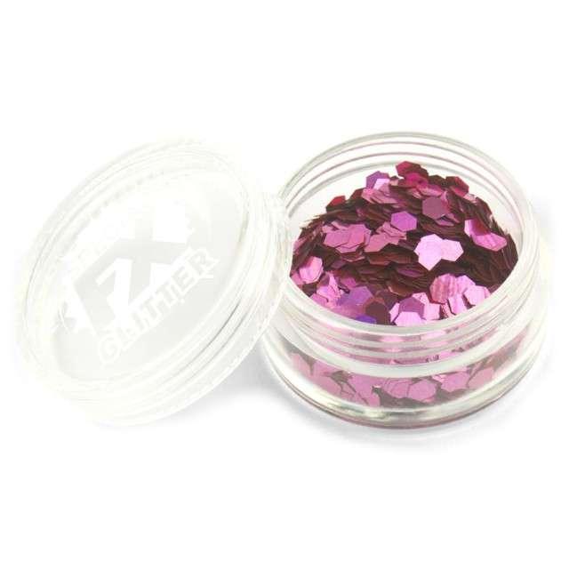 Make-up party Brokat Konfetti różowy SMIFFYS 2 g