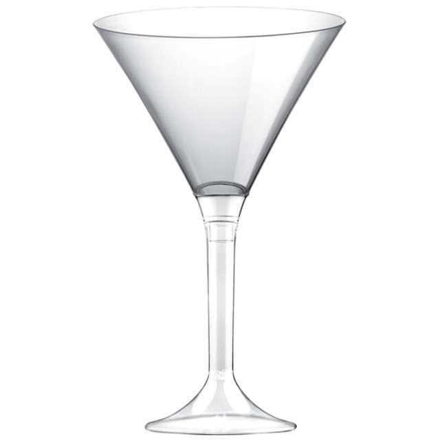 """Kieliszki jednorazowe """"Martini Aperitif"""", transparentne, GoldPlast, 185 ml, 6 szt"""