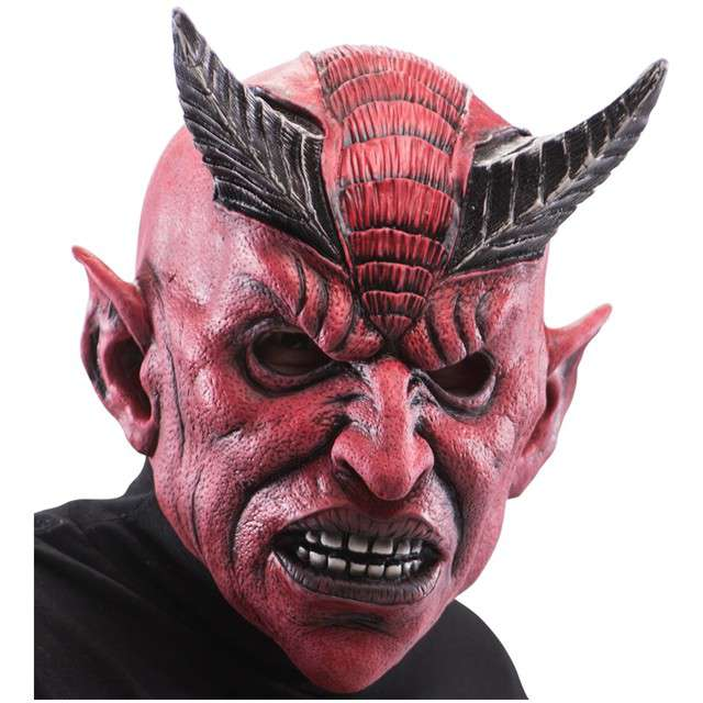 "Maska ""Szatan"", lateksowa, Carnival Toys"