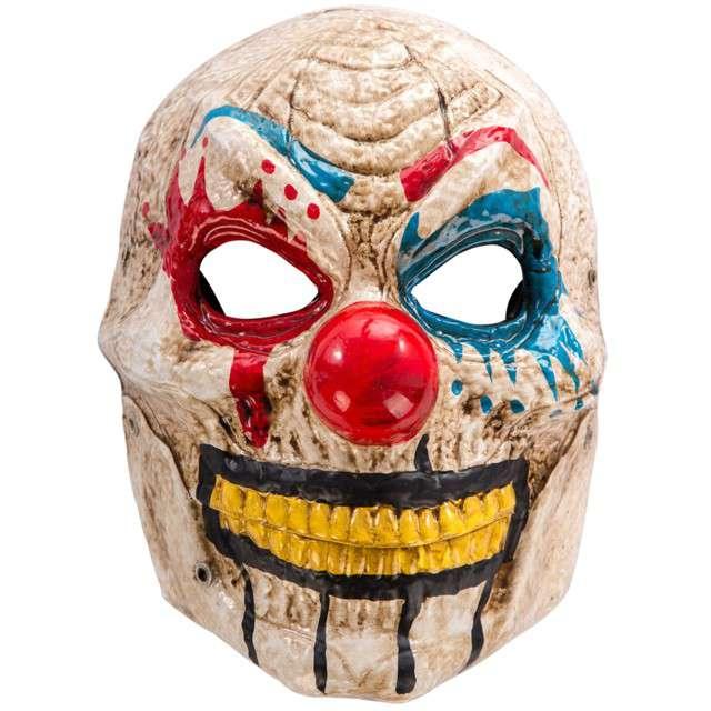 "Maska ""Klaun Zabójca"", plastikowa, Carnival Toys"