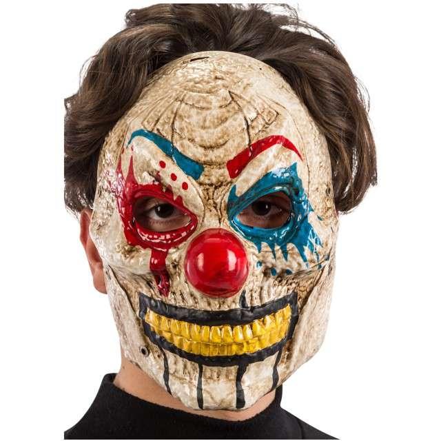 Maska Klaun Zabójca plastikowa Carnival Toys