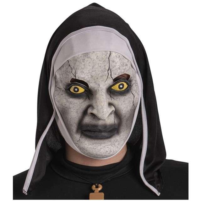 Maska Zakonnica z kapturem lateksowa Carnival Toys