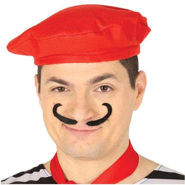Czapka Beret Francuski czerwona GUIRCA