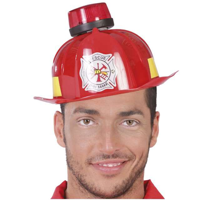 _xx_FIREMAN HELMET WITH SIREN LIGHT AND SOUND