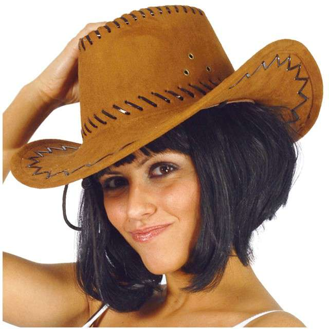 """Kapelusz """"Kowboj Deluxe"""", brązowy, GUIRCA"""