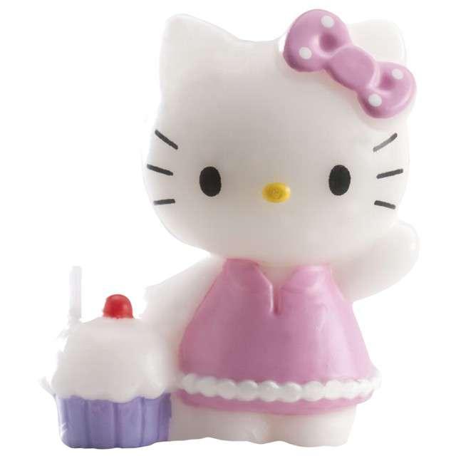 Świeczka na tort Hello Kitty 3D DEKORA 7cm