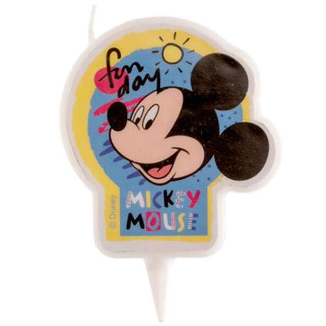 """Świeczka na tort """"Myszka Mickey"""", DEKORA, 7,5 cm"""