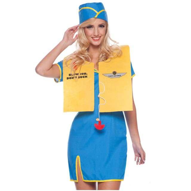 """Strój dla dorosłych """"Sexy Stewardessa"""", FOLAT, rozm. L/XL"""