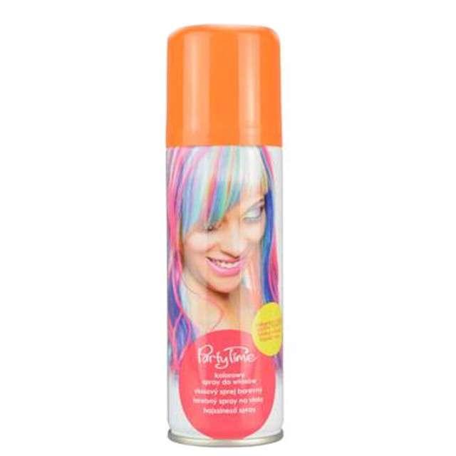 """Spray koloryzujcy """"Party Time"""", pomarańczowy, ARPEX, 125 ml"""