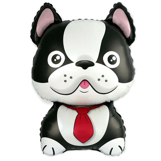 Balon foliowy Pies - Bulldog FLEXMETAL 24 SHP