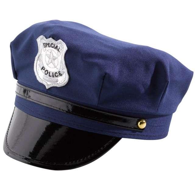 """Czapka """"Policjant"""", granatowa, AMSCAN"""