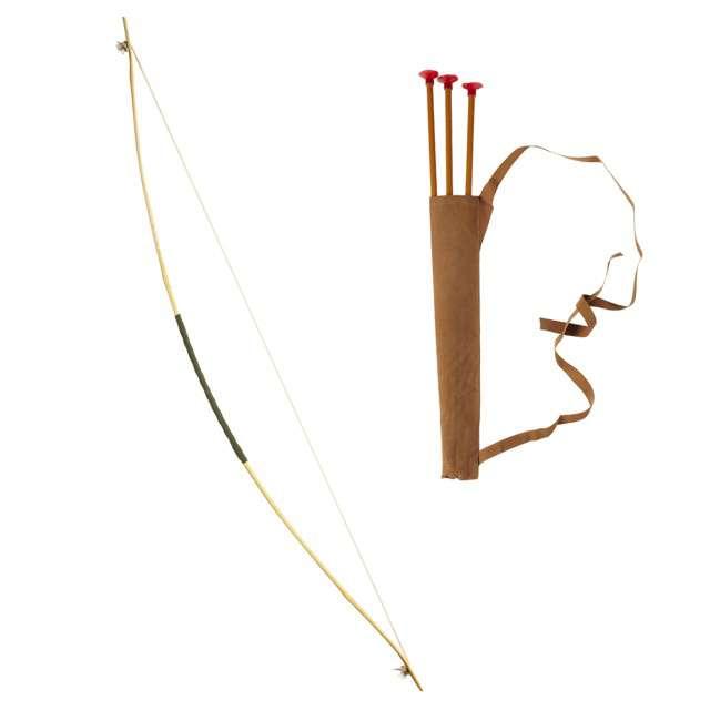 """Broń """"Łuk + Strzały w Kołczanie"""", WIDMANN, 100 cm"""