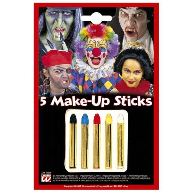 "Make-up party ""Kredki Kolorowe"", WIDMANN, 5 szt"
