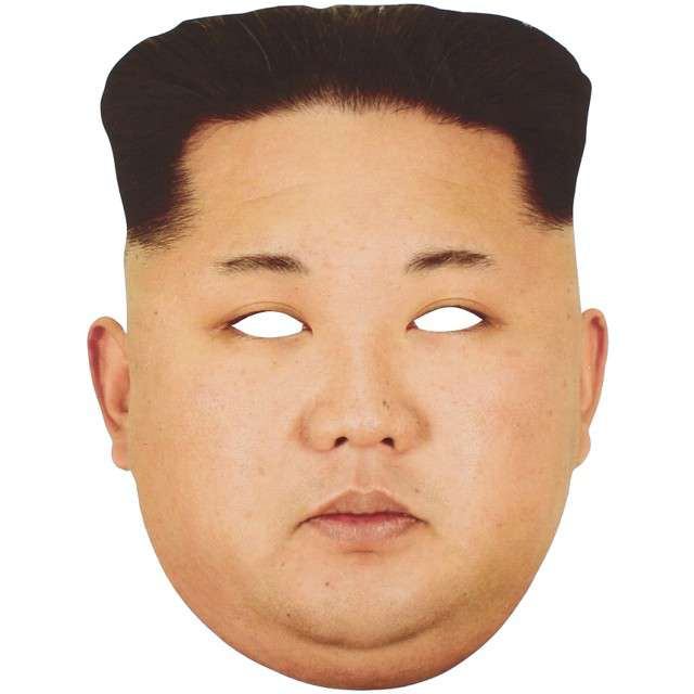 "Maska ""Kim Dzong Un"", papierowa, PowerGift"