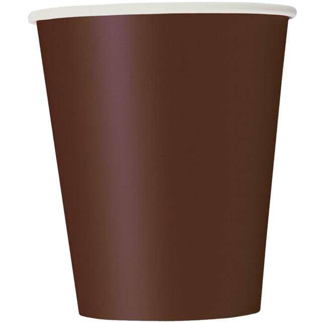 """Kubeczki papierowe """"Classic"""", brązowe, UNIQUE, 270 ml, 14 szt"""