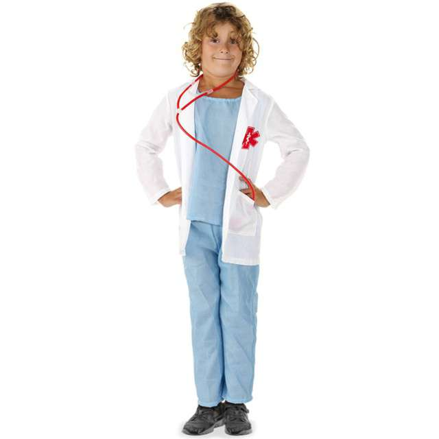"""Strój dla dzieci """"Lekarz"""", FOLAT, rozm. 98-116 cm"""