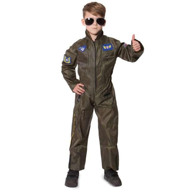 """Strój dla dzieci """"Pilot Myśliwca - Top Gun"""", FOLAT, rozm. 98-116 cm"""