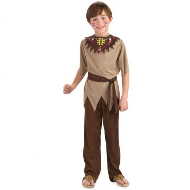 """Strój dla dzieci """"Indianin"""", FOLAT, rozm. 98-116 cm"""