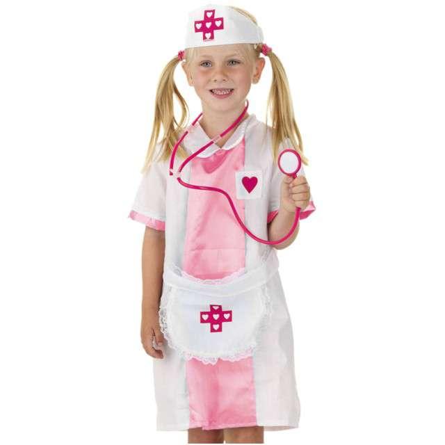 """Strój dla dzieci """"Pielęgniarka Różowa"""", FOLAT, rozm. 116-134 cm"""