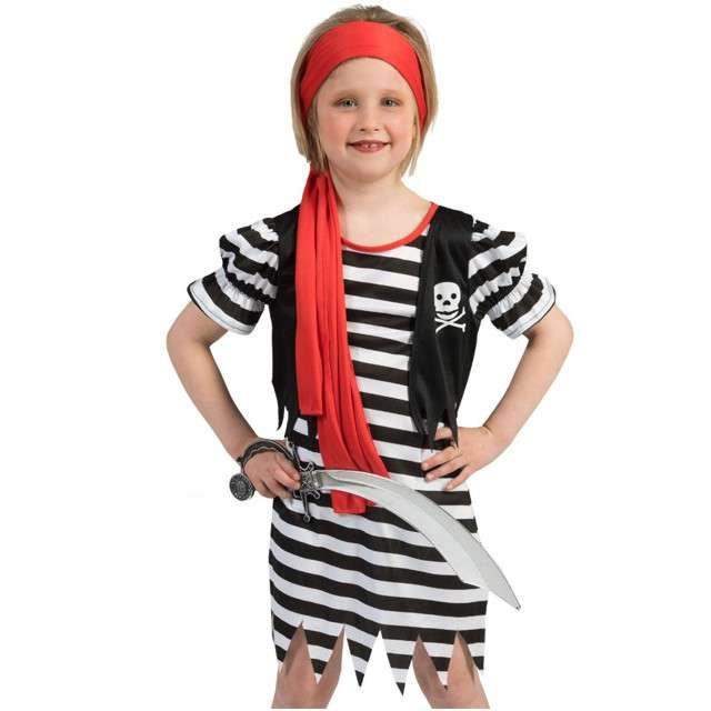 """Strój dla dzieci """"Piratka Kira"""", FunnyFashion, rozm. 128 cm"""