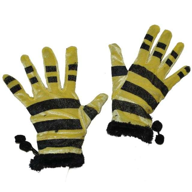 """Rękawiczki """"Pszczółka"""", FunnyFashion, 22 cm"""