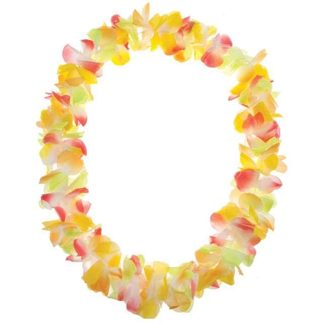 """Naszyjnik Hawajski """"Aloha"""", mix, FunnyFashion, 100 cm"""