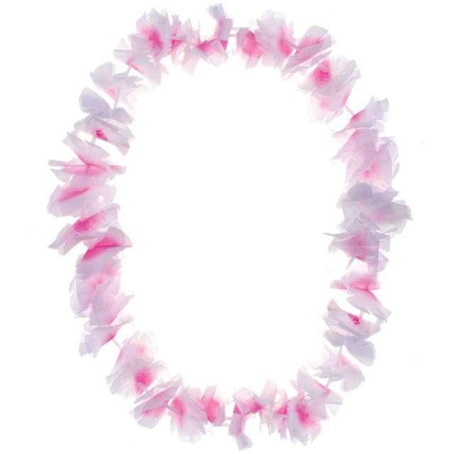 """Naszyjnik Hawajski """"Aloha"""", różowy, FunnyFashion, 100 cm"""