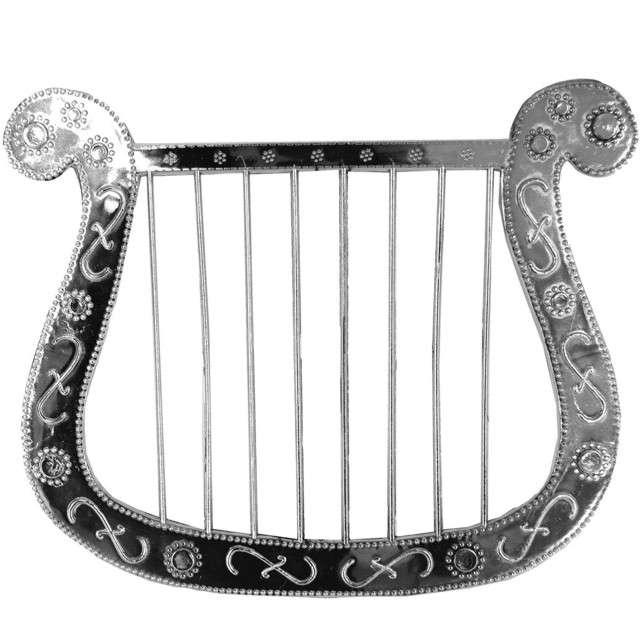 "Instrument party ""Aniołek"", srebrna, Funny Fashion"